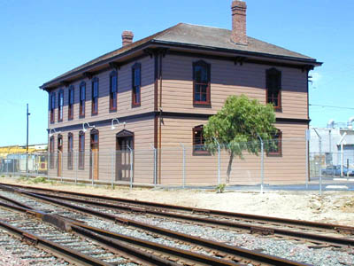 National City Depot Exterior